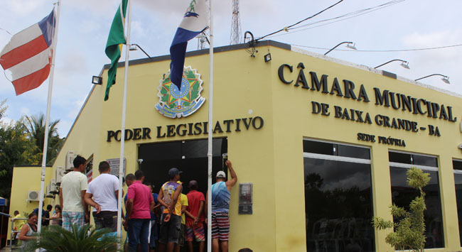 Baixa Grande: O Presidente Amós de Souza Borges Junior e demais vereadores, convida população para sessão sexta-feira dia 08/02 na Câmara Municipal