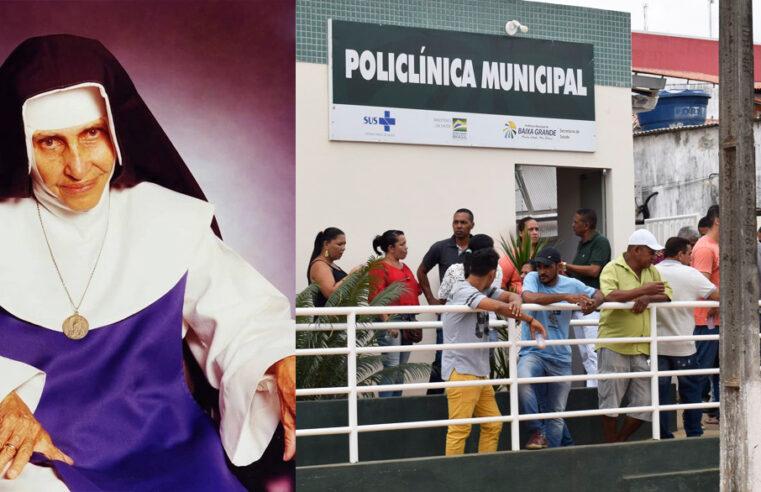 Vereador Reinaldinho propõe nome Santa Dulce dos Pobres para Policlínica de Baixa Grande