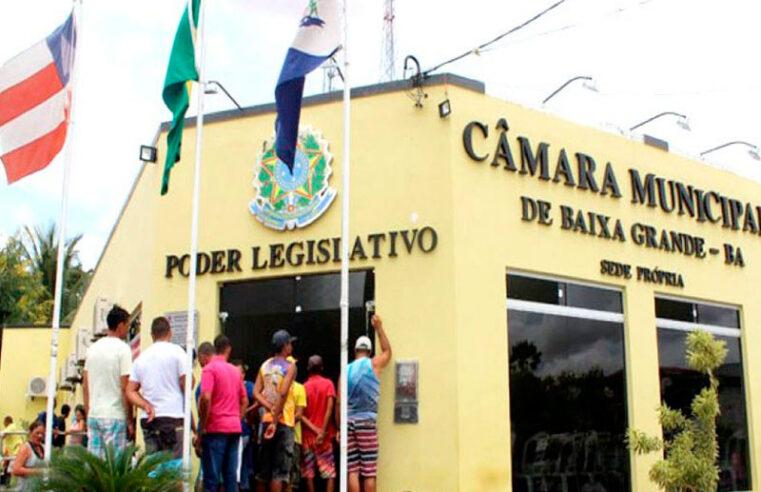 Vereadores de Baixa Grande promovem 1ª Sessão de 2020 nesta sexta-feira