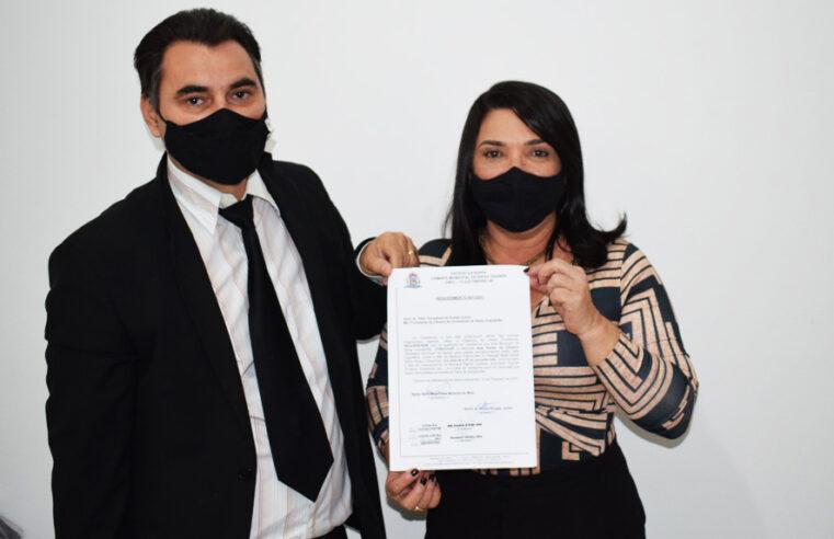 Vereadora Najinha e vereador Amós Júnior requer convocação da Secretaria de Saúde para prestar esclarecimento sobre a saúde de Baixa Grande