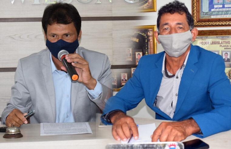 Vereadores Hélio Gonçalves e Almiro Rios Solicitam construção de Quadra Esportiva na Comunidade de Ipoeira