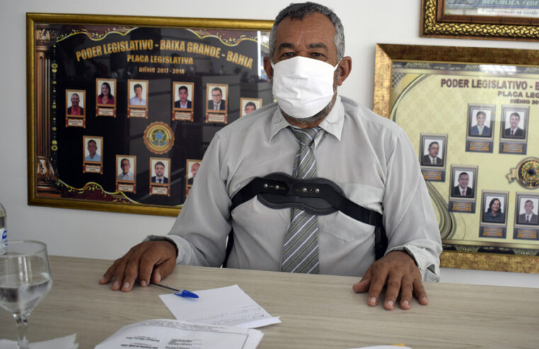 Aurenival solicita da Prefeitura de Baixa Grande, a compra de Vacina contra a Covid-19